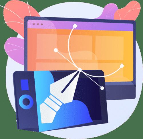 perfekte webseite webdesign inhalt
