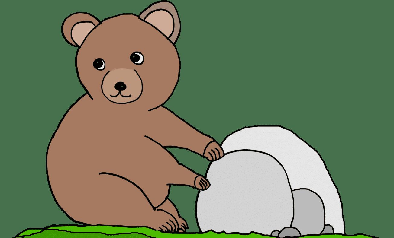 Contentbär Baby