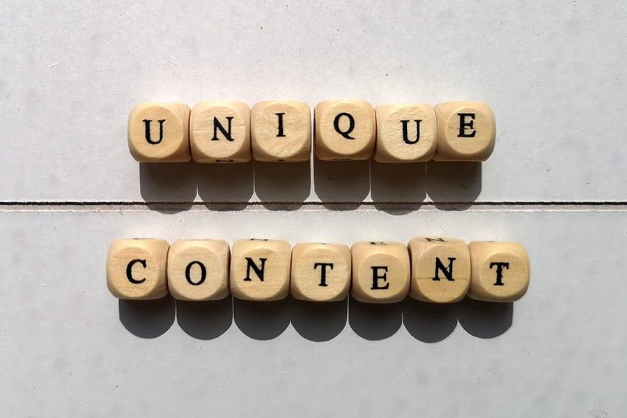 Unique Content